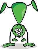 Happiness,Futuristic,Fantasy,Fun,Humor,Bizarre,Drawing - Art Product,Cheerful,Green Color,Concepts,Smiling,Cute,Vector,Characters,Ideas,Space,Mascot,Ilustration,Alien,Cartoon,Caricature,Design