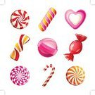 Candy,Mint,Lollipop,Cute,Heart Shape,Orange Color,Vector,Sugar,Toughness,Childhood,Wrapping Paper,Caramel,Food,Ilustration,Flavored Ice,Pink Color,Chewing Gum,Symbol,Spiral,Twisted,Swirl,Set,Icon Set,Dessert,Design,Group of Objects,Circle,Yellow,Snack,Colors,Paper,Striped,Purple,Isolated,Computer Graphic,Variation,Shiny,Painted Image,Red,Collection,Stick - Plant Part,sweet-stuff