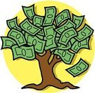Money Tree,Currency,US Paper Currency,Tree,Savings,Finance,Paper Currency,Dollar Sign,Wealth,Computer Icon,Symbol,Commercial Activity,Religious Icon,Business Concepts,Business,Money to Burn,Ilustration
