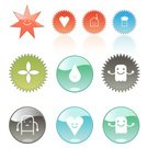 Robot,House,Symbol,Happiness,Cheerful,Icon Set,Smiling,Heart Shape,Weather,Plastic,Circle,Interface Icons,Shiny,Glass - Material,Beer - Alcohol,Glass,Smiley Face,Vibrant Color,Bright,Ilustration,Technology Symbols/Metaphors,Leaf,Rain,Friendship,Illustrations And Vector Art,one two three four,Vector Cartoons,Shape,carved letters,Technology,Vector Icons,Breeze
