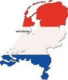 Netherlands,Europe,Flag,Map,vector icons,Amsterdam,Shape,Cartography,Capital Cities,Vector,International Border