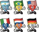 Soccer,Italy,Germany,Mascot,Soccer Fan,Argentina,Heart of Midlothian F.C.,Brazil,FIFA Confederations Cup,American Football - Sport,Characters,Heart Shape,Team Sport,USA