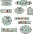clearance,Vector,Sale,Selling,Placard,Label,Retro Revival,Price Tag,Banner,Star Shape,Badge,Striped,Set,ISTEXT2012,Icon Set,Design Element,Retail,Symbol,Old-fashioned