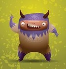 Monster,Child,Kids - Charity Organization,Bizarre,Alien,Devil,Human Face,Hairy,Characters,Vector,Holiday,Symbol,Ugliness,Animal Arm,Animal Teeth,Animated Cartoon,Ogre,Standing,Paintings,Cute,Cartoon,Goblin,Fear,The Scream,Animal Hair,Toy,Fun,Design,Displeased,Pattern,Anger,Spooky,Evil,Shock,Fantasy,Ilustration,Animal,Animal Tongue,Demon,Fang,Horror,Painted Image,Spotted,Humor,Taurean Green,Furious,Drawing - Art Product,Animal Hand,Halloween,Heckling