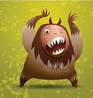 Hairy,Displeased,Animal Hair,Anger,Monster,Furious,Child,Symbol,Alien,Cartoon,Goblin,Ilustration,Demon,Humor,Bizarre,Animal Hand,Horror,Cute,Animal Teeth,Toy,Heckling,The Scream,Pattern,Holiday,Design,Animal Arm,Fun,Spotted,Painted Image,Halloween,Animated Cartoon,Ogre,Characters,Vector,Paintings,Devil,Fantasy,Standing,Fear,Ugliness,Human Face,Fang,Taurean Green,Animal Tongue,Evil,Drawing - Art Product,Shock,Animal,Spooky,Kids - Charity Organization