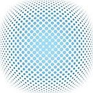 Spotted,Pattern,Vector,Halftone Pattern,Backgrounds,Circle,Blue,gradation,Geometric Shape,Textured,Design,Curve,Shape,Part Of,Photographic Effects,Creativity,Abstract,Decoration,Backdrop,Ilustration,Ornate