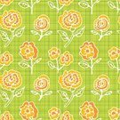 Abstract,Pattern,Green Background,Backgrounds,Seamless,Wallpaper Pattern,Flower,Vector,Floral Pattern,Green Color