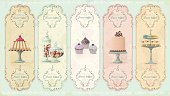 Candy,Retro Revival,Old-fashioned,Jar,Buffet,Label,Chocolate Candy,Cake,Vector,Old,Bakery,Domestic Kitchen,Cherry,Curve,Baked,Glass,Swirl,Art,Glass - Material,Cream,Ilustration,Ornate,Design Element,Sweet Food,Decoration,Design,Pattern,Variation,Event,Restaurant,Collection,Cookie,Food,Grunge,Desert,Spotted,Party - Social Event,Birthday,Gourmet,Group of Objects,Holiday,Cupcake