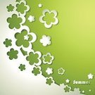 Cutting,Single Flower,Green Color,Backgrounds,Flower,Three Dimensional,Environment,Pattern,Appliqué,Modern,Springtime,Banner,Paper,Vector,Harmony,Ilustration,Computer Graphic,Decoration,Style,Concepts,Shadow,Sign,Shape,Season,Symbol,Abstract,Floral Pattern,Plant,Composition,Nature,Summer,Frame,White