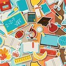 Graduation,Education,Learning,University,School Children,Student,Apple - Fruit,Textured Effect,Educational Subject,Backgrounds,Symbol,Label,Globe - Man Made Object,Computer Icon,Rolled Up,Book,Ball,Pencil,Striped,Mortar Board,Backdrop,Branch,school board,Vector,Wrapping Paper,Computer,Pattern,Computer Keyboard,Leaf,Eraser,Bag,Microscope,Seamless,Study,Test Tube,Wisdom,Surgical Scissors,Chalk - Art Equipment,Blackboard,Paintbrush,Teaching,Certificate,Magnifying Glass,Calculator,Textile