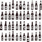 Beer - Alcohol,Bottle,Retro Revival,Whiskey,Sign,Oktoberfest,Pub,Backgrounds,Bar - Drink Establishment,Glass,Wine Bottle,Menu,Alcohol,Collection,Black Color,Cocktail,Seamless,Vector,Vodka,Champagne,Computer Icon,Variation,Brandy,Feast Day,Restaurant,Soda,Party - Social Event,Symbol,Drink,Set,Internet,Nightclub,Wrapping Paper,Label,Martini,Holiday,Wallpaper Pattern,Reflection,Isolated,Individuality,Decoration,Package,Store,Tasting,Christmas,Celebration,Book Cover