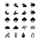 Satellite,Weather,Wind,Computer Icon,Symbol,Eclipse,Moon,Cloud - Sky,Thermometer,Interface Icons,Clear Night,Partly Sunny,Snow,cloudy night,Temperature,Water,vector icons,Icon Set,Sunny,partly cloudy,Sign,Rain,Thunderstorm,Storm,Fog