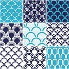 Scallop,Pattern,Nautical Vessel,Backgrounds,Geometric Shape,Wave Pattern,Indoors,Sea,Wave,Seamless,Striped,Textile,Decoration,Print,Blue,Decor,Wallpaper Pattern,Design Element,Wrapping Paper,Turquoise,Nostalgia,Simplicity,Semi-Circle,Backdrop,Abstract,Circle,Modern,Navy Blue,Symmetry,aqueous,Nature,Fashion,Seigaiha,Wallpaper,Repetition,Ornate,Old-fashioned,Textured,Curve,Epicenter,Softness,Retro Revival