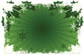 Christmas,Holly,Green Color,Backgrounds,Snow,Snowflake,Winter,Elegance,Vector,Snowing,Holidays And Celebrations,Christmas,Cold - Termperature,Beautiful,Illustrations And Vector Art