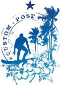 Beach,Postage Stamp,Ilustration,Fun,Vector,Big Island,Maui,Hawaii Islands,Art,Coconut Palm Tree,Playing,Computer Graphic,Flower,Season,Hawaiian Culture,Honolulu,Coastline,Surf Table,Tropical Climate,Ancient,Enjoyment,Vacations,Outdoors,Surf,Water Sport,Palm Tree,Recreational Pursuit,Travel Destinations,Postmark,1940-1980 Retro-Styled Imagery,Big Wave Surfing,Leisure Activity,Antique,Summer,Tree,Splashing,Surfboard,Tropical Tree,Old,Old-fashioned,Idyllic,Paradise - California,Nature,Surfing,Design,Sports Activity