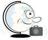 Security,Symbol,Globe - Man Made Object,Briefcase,Communication,Success,Ilustration,Cartoon,Backgrounds,Vector