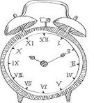 Sketch,Clock,Alarm Clock,Doodle,Drawing - Art Product,Business Symbols,Business,Concepts And Ideas,Ilustration,Time,Ideas