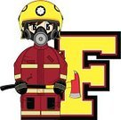 Firefighter,Emergency Services,Characters,Emergency Services Occupation,Vector,Letter F,Heroes,Arson,Work Helmet,Clip Art,Occupation,Education,Mask,Cool,Ilustration,Smoke Jumper,Modern,Assistance,Equipment,Uniform,Isolated,Learning,Gas Mask,Axe,Cartoon,Badge,Cute,Smiling,Alphabet