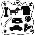 Paw Print,Leash,Dog,Silhouette,Dog Bone,Animal Food Bowl,Frame,Beef,Kennel,Pet Collar,Bowl,T-bone Steak,Animal,Canine,Mixed-Breed Dog,Pets,Courage,Food,Car,Picture Frame,Tennis Ball,Portrait,Puppy,Biscuit