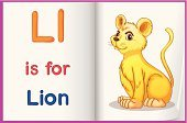 phonics,Preschool,phonetics,Cute,Child,Teaching,Workbook,Cub,teacher's,uppercase,Student,Learning,Alphabet,Education,lowercase,worksheet,Clip Art,Lion - Feline,Book,Sheet,Blue