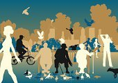 Retirement,Silhouette,Sitting,Urban Scene,Park - Man Made Space,People,Vector,Pigeon,Women,Bench,City Life,Park Bench,Flock Of Birds,Men,Ilustration,Animals Feeding,Bird,Blue,Friendship,Bird Seed,Nature,Enjoyment,Feeding,Senior Adult,Outline,Relaxation,Brown,Outdoors,Lifestyles,Wildlife,Dove - Bird