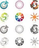 Motion,Spinning,Circle,Design Professional,Twisted,Arrow Symbol,Computer Graphic,Sign,Sparse,Turning,Design Element,Communication,Global Communications,Insignia,Collection,Abstract,Art,Futuristic,Multi Colored,Pattern,Blue,Elegance,Geometric Shape,Design,Corporate Business,Technology,Set,Identity,Fashion,Backdrop,Computer Icon,Vector,Monochrome,Swirl,Grayscale,Symbol,Style,Shape,Gray,Business,Fashionable,Black And White,Internet,Color Gradient,Modern