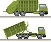 Garbage,Truck,Carrying,Collection,Vector,Sewage,Loading,Trucking,municipal,Removing,Garbage Can,Fuel and Power Generation,Production Line,Land Vehicle,Machinery,Car,Town,Outdoors,Transportation