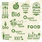 Farmer's Market,Symbol,Computer Icon,Freshness,Sign,Nature,Healthy Lifestyle,Wheat,Market,Merchandise,Vegan Food,Food,Organic,Vegetarian Food,Farm,Carrot,Plant,Design Element,Leaf,Set,Collection,Design,Green Color,Vegetable