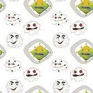 template,critter,templates,themed,kid's,Bacterium,Pattern,Label,Cute,Repetition,Backgrounds,Rectangle,Series