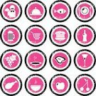 Grape,Food,Symbol,Computer Icon,Silverware,Icon Set,Chef,Service,Dirty,Wine Bottle,Computer Graphic,Soup,Steak,Wineglass,Ilustration,Grunge,Pink Color,Vector,Fruit,Internet,Hamburger,Beer - Alcohol,Ham,Group of Objects,Fast Food,Design Element,Shopping Basket,Apple - Fruit,Crockery,Prepared Fish,Cherry,No People