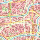 Seamless,Town,Ilustration,Backgrounds,Railroad Track,Avenue,Street,Park - Man Made Space,Built Structure,Map,City,House,Town Square,Ornate,Cartography,Boulevard,Residential District,Vector,Crossroad,Plan,Channel,River