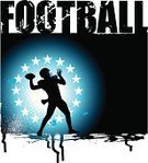 American Football - Sport,Football,All Star,Sport,Ilustration,NCAA College Football,Football Player,Vector,Passing,Quarterback,Text,Athlete,Sports Equipment,Sports Background,Competitive Sport,Copy Space,Ball,room for text,Professional Sport,Backgrounds,Grunge,Typescript,Art Title,Team Sport,Playing,Single Word