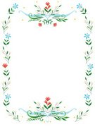 Backgrounds,Flower,White,Summer,Frame,Vector,Copy Space