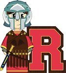 Funky,Letter R,Gladiator,Vector,Men,Ilustration,Roman Centurion,Holding,Fun,Work Helmet,Tunic,Weapon,Education,Roman,The Past,Alphabet,Isolated,Cartoon,Cape,Cute,Sword,Suit of Armor,Robe,Protective Mask - Workwear,Smiling,Learning,Sandal,Clip Art,Armed Forces,Cool,Mask,History,Scabbard