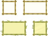 Frame,Bamboo,Bamboo,Tropical Climate,Picture Frame,Banner,Placard,Leaf,Stick - Plant Part,Branch,Twig,Square Shape,Wood - Material,Decoration,Part Of,Message,Rectangle,Yellow,Drawing - Art Product,Green Color,Floral Pattern,Text,Text Messaging,Empty,Nature,Plant,Single Object,Blank,Brown,Japan,East,Isolated On White,White,Design Element,Indigenous Culture,Cultures,Design,Ilustration,Isolated,Set,Stem,Parchment,Paper,Information Medium,No People,Vector,Menu,Painted Image,Label,Backgrounds