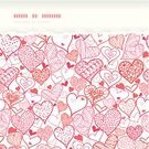 Cheerful,Scribble,Heart - Entertainment Group,Ilustration,Frame,Backgrounds,Romance,Love,Art,White,Fun,Horizontal,Wedding,Style,Drawing - Art Product,Day,Pattern,Seamless,Pink Color,Design,Textured,Vector,Sketch,Abstract,Valentine's Day - Holiday,Doodle,Retro Revival,Red,Design Element,Grunge,Decoration,Torn,Modern,Color Image