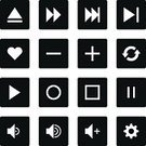 Computer Icon,Setting,Push Button,Interface Icons,Media Player,Music,Play,Square Shape,Flat,Record,music player,Refreshment,Icon Set,Sign,Volume - Fluid Capacity,Computer Key,Slow Motion,Microphone,The Way Forward,Turning,Gear,Plus Sign,White Background,Minus Sign,Undo Key,Plain,Heart Shape,Play Button,White,Pause Button,Satin,Control Panel,Solid,favorite,Simplicity,Stop,Multimedia,MP3 Player,Audio Equipment,Circle,Repetition,Spinning,Start Button,Shuffling,Label,Black Color,Set,Isolated On White,Bookmark,Speaker