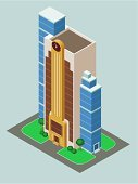 Hotel,Apartment,Built Structure,City,Isometric,Town,People,Architecture,City Life,Building Exterior,Ilustration,Cartoon,Construction Industry,Modern,Real Estate
