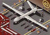 Isometric,Drone,Military,Armed Forces,Airplane,Hangar,Airport,Security,Jet - Band,Security Guard,Weapon,Air Vehicle,Surveillance,Coast Guard,Bomb,Armed Force,Security System,Spy,Piloting,Air Force,Home Video Camera,Wing,Fighter Plane,Bomber Plane,Missile,Protection,Land Vehicle,War,Aggression,Remote Control
