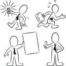 Mobile Phone,Drawing - Activity,Sketch,People,Simplicity,Placard,Black And White,Tie,Set,Showing,Symbol,Sign,Cartoon,Vector,Sparse,Briefcase,Men,Ilustration,Thumbs Up,Collection,Gesturing