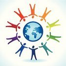 Friendship,Sign,Abstract,Cooperation,Symbol,nation,People,Backgrounds,Vector,Meeting,Togetherness