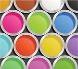 Paint Can,Home Improvement,Decorating,Painting,Colors,Multi Colored,Metallic,Vibrant Color,Striped,Orange Color,Pink Color,Purple,Green Color,Red,Shadow,Blue,Ink,Brown,Pattern,Decoration,Can,Artist,Circle,Yellow,Bright,White