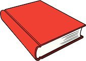 Red,Book,Authority,Law,Copy Space,Instructions,Vector,Instruction Manual,Business Symbols,Ilustration,Information Medium,Closed,Isolated,Law Enforcement And Crime,Business,Education,Advice,Ideas,Cartoon