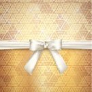 Gold Colored,Decoration,Creativity,Backgrounds,Satin,Luxury,Computer Graphic,Elegance,Style,Ribbon,Textile,White,Triangle,Art,Shiny,Design,Bow,Wallpaper Pattern,Vector,Ilustration,Ornate,Abstract,Geometric Shape,Mosaic