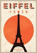 Poster,Retro Revival,Old-fashioned,Paris - France,Eiffel Tower,Travel,France,Backgrounds,Sketch,Cute,Postcard,Frame,Ilustration,Fashion,Sign,Tower,Symbol,Typescript,Love,City,Textured Effect,Art,Architecture,Romance,Park - Man Made Space,Ornate,Design,Greeting Card,Grunge,Holiday,Clip Art,Europe,Famous Place,Tourist,Print,Decoration