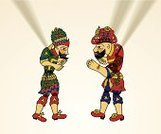 Karagoz,Hacivat,Shadow Puppet,Turkish Culture,Turkey - Middle East,Entertainment,Cultures,Figurine,Clown,Turkey - Bird,Isolated-Background Objects,Puppet,Art And Craft,People,Craftsperson,Performing Arts Event,Shadow,isolated objects,Arts Backgrounds,Animated Cartoon,Human Representation,Color Image,Characters,Male Likeness,Craft