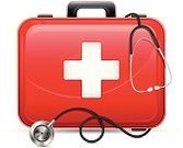 Healthcare And Medicine,Suitcase,First Aid Kit,Doctor,Accident,firstaid,Briefcase,Stethoscope,Medical Exam,Illness,Scale,Physical Injury,Rescue,Hospital,Antibiotic,editable,Equipment,Service,Vector,Wellbeing,Single Object,Ilustration