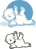 Polar Bear,Cub,Bear,Mascot,Cute,Canada,Baby,Snow,Winter,Cut Out,Carnivore,Stuffed Toy,Paw,Animals In The Wild,Animal,White,North,Wildlife,Blue,Outdoors,Arctic,Computer Icon,Fun,Lying Down,Vector,Isolated,Rolling,vector cartoon,Mammal,Nature,Fur,white-background,Ice,Endangered Species,Cold - Termperature,Characters,One Animal,Cartoon,Ilustration,Childhood