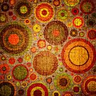 Textile,Purple,Multi Colored,Modern,Pattern,Wallpaper,Cheerful,Shape,Circle,Scrapbook,Abstract,Modern Rock,Computer Graphic,Joy,Backgrounds,Ilustration