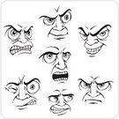Facial Expression,Emoticon,People,Sign,Symbol,Clenched Jaw,Human Face,Sullen,Furious,Aggression,Action,Sadness,Emotion